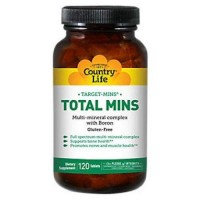Country Life Target-Mins Total Mins Multi-mineral Complex with Boron - 120 ea