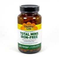Total mins ironfree by country life capsules - 150 ea