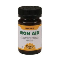 Country Life Iron Aid - 60 ea