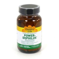 Powerdophilus by country life vegetarian capsules - 100 ea