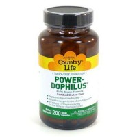 Powerdophilus by country life vegetarian capsules - 200 ea