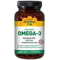Omega 3 fish body oils, softgels - 50 ea
