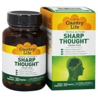 Country life  sharp thought capsules - 30 ea