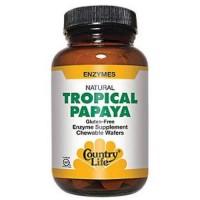 Natural tropical papaya - 200 ea