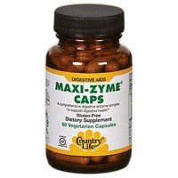 Country Life - Maxi-Zyme capsules - 60 ea
