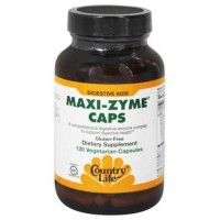 Country life  maxizyme caps digestive vegetarian capsules - 120 ea