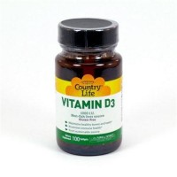 Vitamin d3 1000 iu by country life Softgels - 100 ea