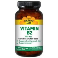 Country Life Vitamin B-2 100 Mg - 100 ea