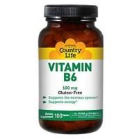Country Life Vitamin B-6 100 Mg - 100 ea