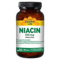 Country Life Niacin 500 Mg - 90 Count
