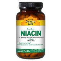 Country Life Flush Free Niacin, 400 mg - 90 ea