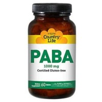 Country Life Paba 100 mg tablets - 60 ea