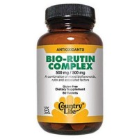 Country Life Citrus Bioflavonoid/rutin Complex 500 Mg/500 Mg - 60 Count