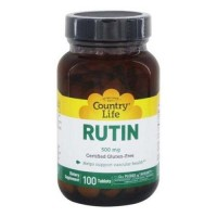 Country life  rutin 500 mg tablets - 100 ea