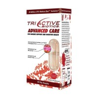 Triactive biotics advanced care for immune support and digestive health - 30 ea