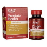 Schiff prostate health formula saw palmetto lycopene and selenium - 60 ea