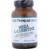 Twinlab mega l carnitine free form amino acid tablets - 60 ea