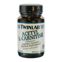 Twinlab acetyl lcarnitine capsules - 30 ea