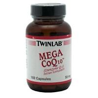 Twinlab mega coq - 100  ea