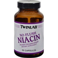 TwinLab No Flush Niacin - 50 ea