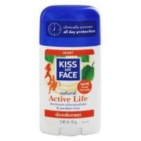 Kiss My Face Deodorant Active Life Sport Aluminum Free - 2.48 Oz