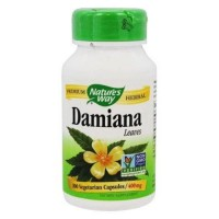 Natures way damiana leaves 400 mg. Vegetarian capsules - 100 ea