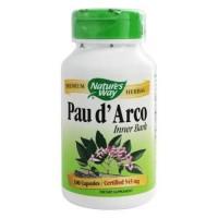 Natures way pau darco inner bark 545 mg. - 100 Capsules