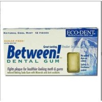 Eco dent between dental gum sugar free cool mint - 12 ea
