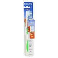 Eco-dent terradent adult 31 toothbrush refill medium with replaceable brush head - 1 ea, 6 pack