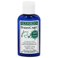 Eco-Dent Daily Care Baking Soda Toothpowder, Lemon-Lime - 2 oz