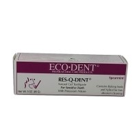 Eco-Dent Res-Q-Dent toothpaste for sensitive teeth, Spearmint - 3 oz