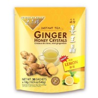 Prince of peace instant lemon ginger honey crystals - 30 ea