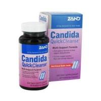 Zand candida quick cleanse vegetarian capsules - 60 Ea