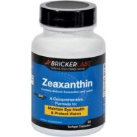 Bricker labs zeaxanthin with lutein - 30 Softgels
