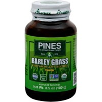Pines international 100percent organic barley grass powder - 3.5 oz