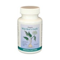 Arizona natural wild bear odorless organic garlic capsules 235mg - 90 ea