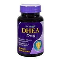 Natrol dhea 25 mg capsules - 90 ea