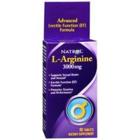 Natrol larginine 3000mg tablets - 90 ea