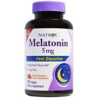Natrol melatonin fast dissolve natural strawberry flavor 5 mg - 150 ea