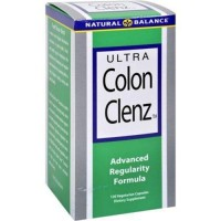 Natural balance ultra colon clenz vegetarian capsules - 120 ea