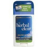 Herbal clear deodorant herbal clear stick - 1.8 oz