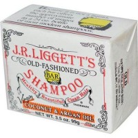 J.R. Liggetts Bar Shampoo Virgin Coconut and Argan Oil - 3.5 Oz, 12 Pack