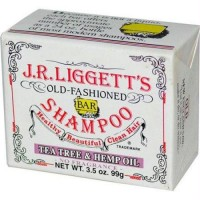 J.R. Liggetts old fashioned bar shampoo counter display tea tree and hemp oil - 3.5 Oz, 12 pack