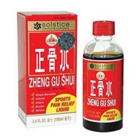 Solstice medicine company zheng gu shui topical pain relief herbal liquid - 3.4 oz