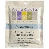 Aura cacia inspirationromatherapy mineral bath - 2.5 oz ,6 pack