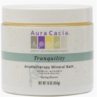 Aura cacia aromatherapy mineral bath tranquility - 16 oz