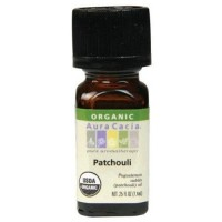 Aura cacia essential oil organic patchouli - 0.25 oz