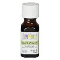 Black pepper essential oil blend aura cacia - 5 oz