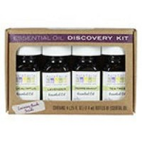 Essential oil discovery kit aura cacia 1 pack - 0.25 oz