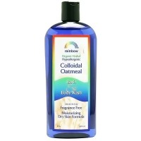 Rainbow Research Colloidal Oatmeal Unscented Bath and Body Wash, 12 oz